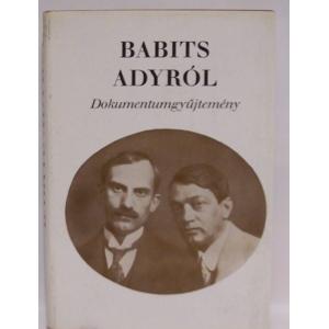 Babits Adyról