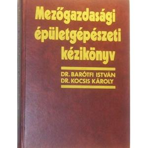 Mezőgazdasági épületgépészeti kézikönyv