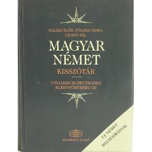 MAGYAR-NÉMET KISSZÓTÁR
